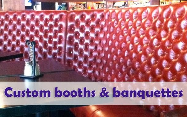 Custom booths and banquettes 2