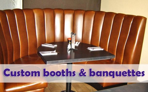 Custom booths and banquettes 1