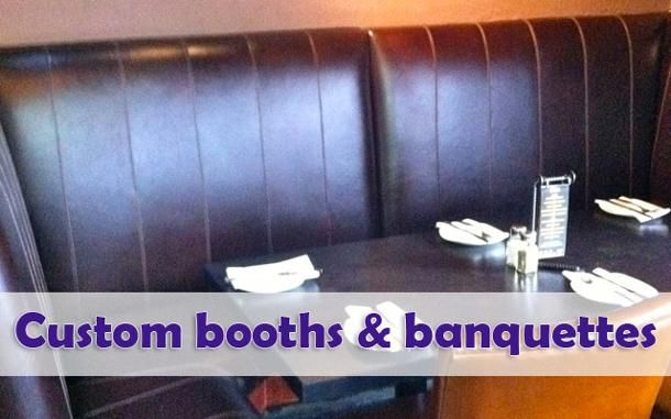 Custom booths and banquettes 3